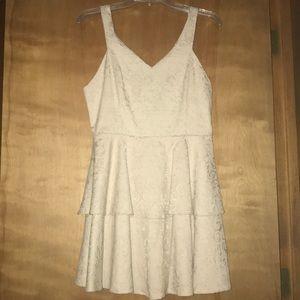 NWT Cream Dress